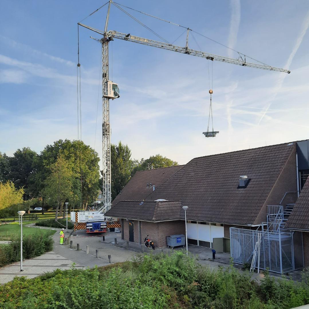 Werkzaamheden op de Sporthoeve Bodegraven gestart.